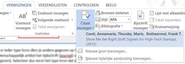 Citaten Scribbr Word : Handleiding bronvermelding met word scribbr