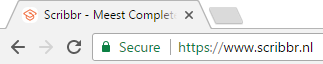 SSL beveiligde verbinding